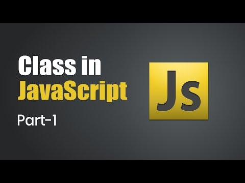 Introduction to Class in JavaScript | Part 1 | Eduonix