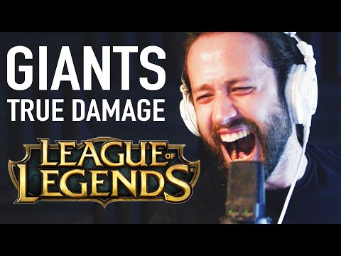 True Damage - Giants (League of Legends) Metal Cover by Jonathan Young