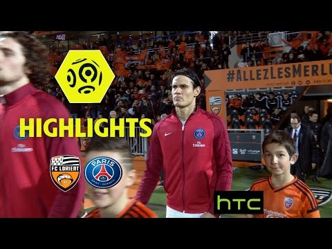FC Lorient - Paris Saint-Germain (1-2) - Highlights - (FCL - PSG) / 2016-17
