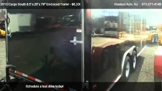 10. 2013 Cargo South 8.5' x 20' x 78'' Enclosed Trailer 10K  - for sale in Wharton, NJ 07847