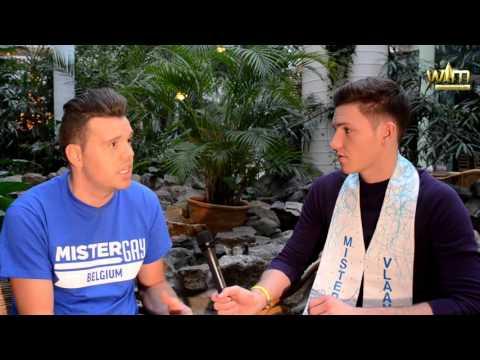 Sidney Demeulemeester Finalist Mister Gay Belgium 2016 (видео)