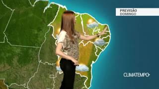 Previsão Nordeste - Chuva freqüente na costa leste