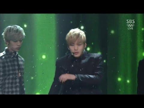 [B.A.P] 1004(Angel) @인기가요 Inkigayo 140216 видео