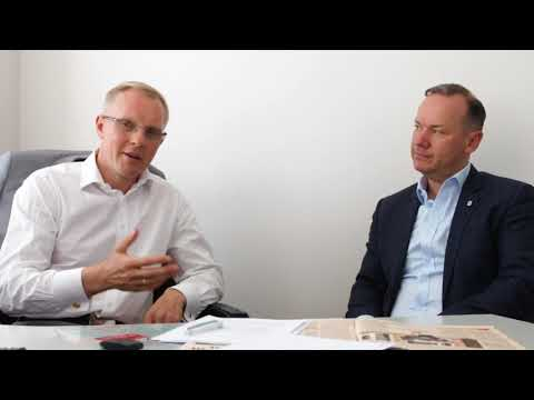 The Hon Richard Evans and Andrius Nikitinas interview