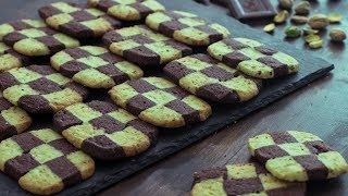 Checkerboard Cookies by Home Cooking Adventure