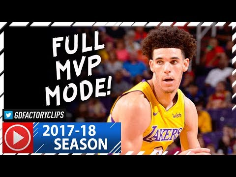 Lonzo Ball INSANE Full Highlights vs Suns (2017.10.20) - 29 Pts, 11 Reb, 9 Ast, MVP MODE! - Thời lượng: 3:29.