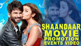 Nonton Shaandaar  2015  Promotion Events Full Video   Shahid Kapoor   Alia Bhatt Film Subtitle Indonesia Streaming Movie Download