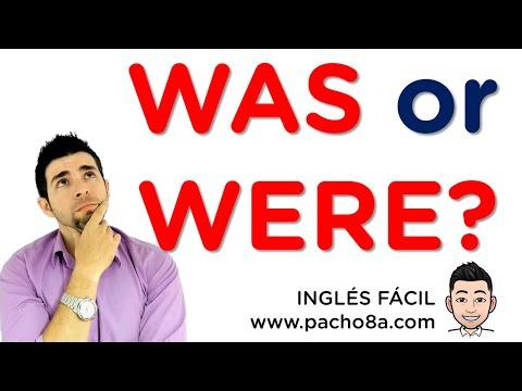 Como usar  WAS y WERE - Explicacion en español muy fácil