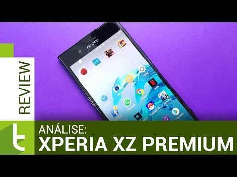 Análise do Xperia XZ Premium  Review do TudoCelular
