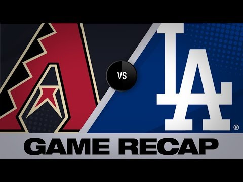 Video: Bellinger jacks walk-off home run in the 10th | D-backs-Dodgers Game Highlights 7/3/19
