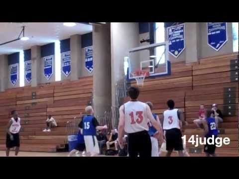 Paul White shows size + elite skills at HS summer shootout Whitney Young Chicago 2014 basketball