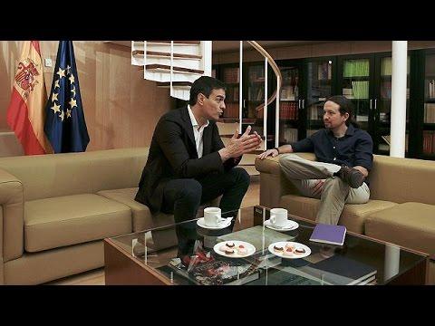 Ισπανία: Διαβουλεύσεις Σοσιαλιστών-Podemos για σχηματισμό κυβέρνησης