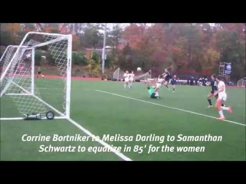 Soccer goals vs. Emory