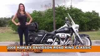 1. Used 2008 Harley Davidson Road King Classic for sale
