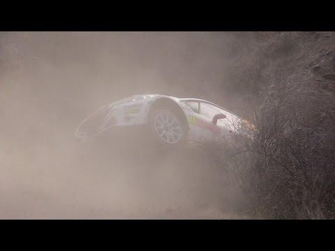 Vídeo salida pista Jonathan Hirschi Peugeot 208 R5 sábado WRC Rallye Montecarlo 2015