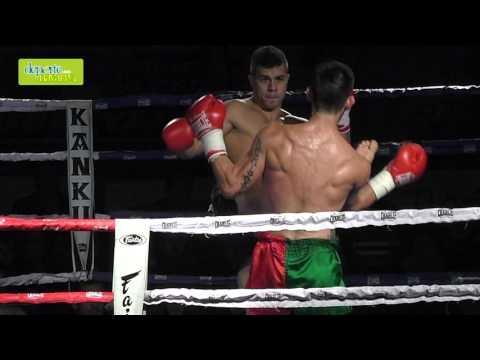 Velada Anaitasuna kickboxing combate 6 cámara lenta