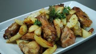 Pollo Al Forno Con Patate