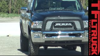 2017 Ram Power Wagon Prototype Spied High Altitude Testing in the Wild by The Fast Lane Truck