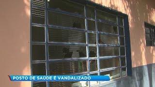 Vandalismo em posto de saúde deixa pacientes sem atendimento em Marília