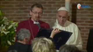 Visita del Papa a la Iglesia Anglicana de Roma