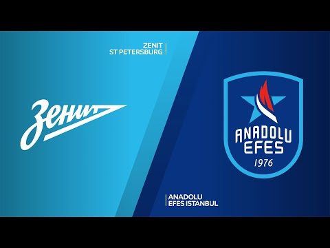 Zenit St Petersburg - Anadolu Efes Istanbul Highlights | Turkish Airlines EuroLeague, RS Round 21