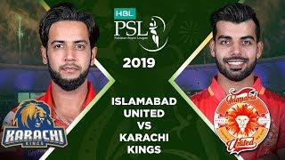 Match 13: Full Match Highlights Islamabad United vs Karachi Kings   HBL PSL 4   HBL PSL 2019
