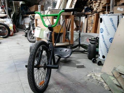 trike construction - Construction de mon premier Drift Trike...
