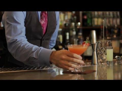 How to Make a Strawberry Presidente Margarita : Margaritas & More