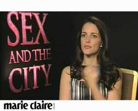 Kristin Davis - Ahead of the eagerly awaited Sex and The City: The Movie, Kristin Davis talks exclusively to marieclaire.co.uk.