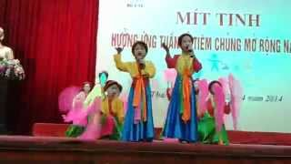 Hát Chèo Thái Bình: Ngày Hội Tuổi Thơ Bé Tuyết Mai Và Bé Thu Phương