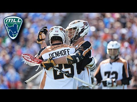 2015 MLL Semifinals Highlights: Rochester 12 , Ohio 8