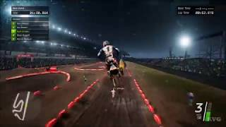 Monster Energy Supercross - Rain Gameplay (PC HD) [1080p60FPS]
