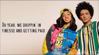 Video Bruno Mars ft. Cardi B - Finesse (Lyrics) MP3, 3GP, MP4, WEBM, AVI, FLV Maret 2018