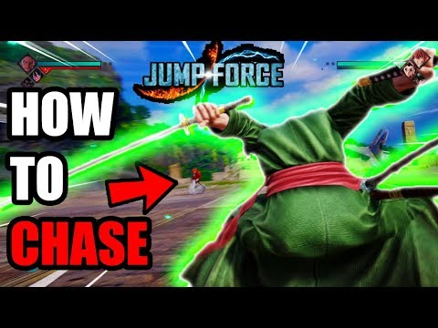 Jump Force: How To Effectively Chase An Opponent (jump Force Tips & Tricks)