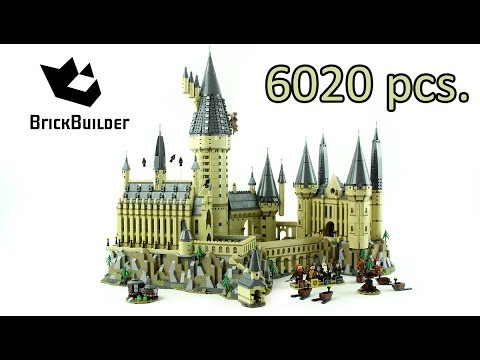 Lego Hogwarts Castle - Second Biggest set Ever 6020 - Harry Potter 71043 - Lego Speed Build