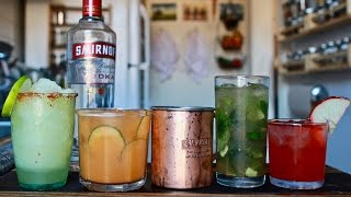 Beginners Guide to Mixed Drinks (Featuring the Moscow Mule) by Brothers Green Eats