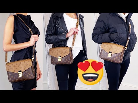 Louis Vuitton Pochette Metis Outfits - Reverse Monogram Styled with 5 Outfits 💃 | HOW TO STYLE