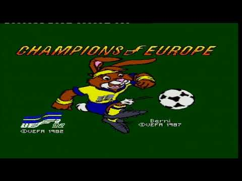 CHAMPIONS OF EUROPE / jeu MASTER SYSTEM SEGA / PAL