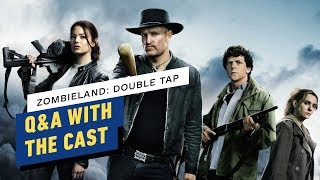 Zombieland: Double Tap Q&A With the Cast (Woody Harrelson, Emma Stone, Jesse Eisenberg) by IGN