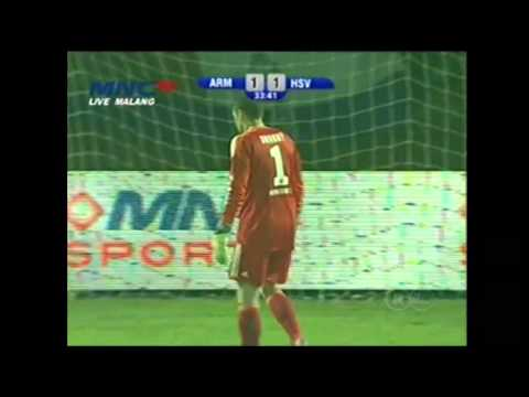 1st Half Highlight Goal - AREMA VS HAMBURG SV, MNCTV 06-01-2014