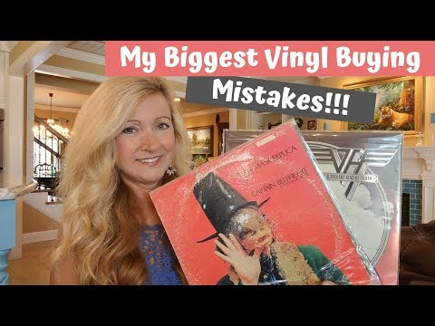 My Biggest Vinyl Record Buying Mistakes And My Number One Grail!