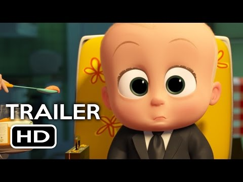 The Boss Baby Official Trailer #1 (2017) Alec Baldwin, Lisa Kudrow Animated Movie HD