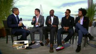Cannes Festival 2014 — ARISE TV Interviews Dr David Luu, Jimmy Jean-Louis, Gary Dourdan and Yassine