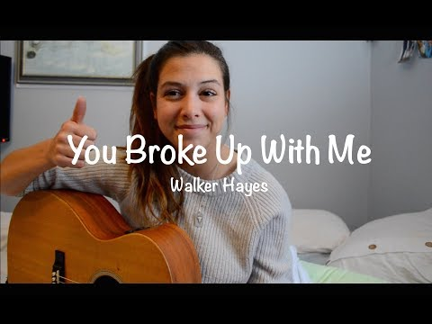 Video You Broke Up With Me Walker Hayes | Robyn Ottolini Cover download in MP3, 3GP, MP4, WEBM, AVI, FLV January 2017