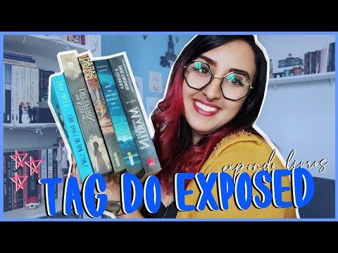 TAG DO EXPOSED | Expondo alguns livrinhos (sem julgamentos) | por Carol Sant