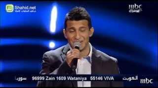 Arab Idol  -حلقة الشباب - جمال عباد - إبعتلي جواب