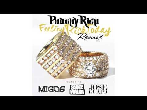 "@philthyrichFOD feat. @Migos, @Sauce_Walka102, & @JoseGuapo - ""Feeling Rich Today RMX"""