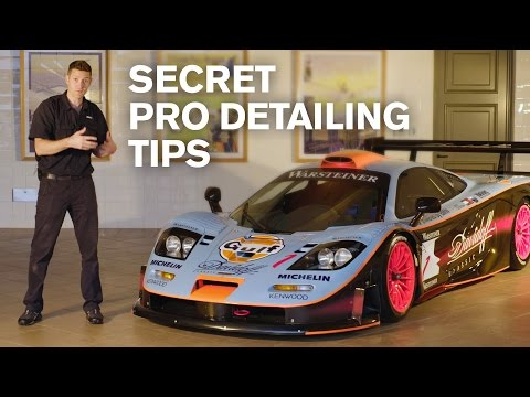 138 Hour Detail of a McLaren F1 GTR Longtail for The Quail, A Motorsports Gathering - [29:56]