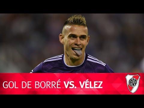 Gol de Rafael Borré vs. Vélez
