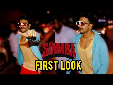 Ranveer Singh In His SIMMBA Movie Look Spotted Out